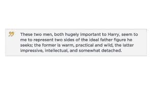 jk rowling essay jk rowling tells us who harry s ideal father figure is
