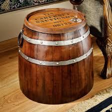 brown wine barrel coffee table gorgeous diy wine barrel coffee table with pictures alpine wine design outdoor finish wine barrel