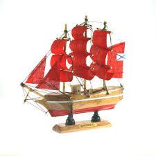 <b>Сувенир</b>, <b>Кораблик декоративный</b>, <b>деревянный</b>, 10см   Буквоед ...