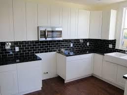 subway kitchen black subway tile backsplash kitchen home design ideas
