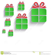 christmas gift green red paper 3d icon stock photo image 34522810 christmas gift green red paper 3d icon