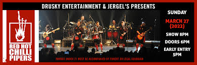 <b>Red Hot Chili</b> Pipers - Jergel's Rhythm Grille