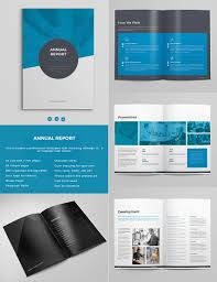 annual report templates awesome indesign layouts bold annual report template indesign design set