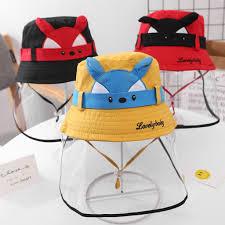 <b>face shield hat</b> anti spitting protective bucket <b>hat</b> Dustproof Cover ...