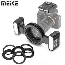 <b>Meike MK-MT24S Macro Twin</b> Lite Flash with Trigger for Sony A7 ...