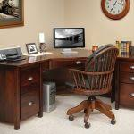 Office DeskHome Corner Desk Home Furniture Wooden And Chair