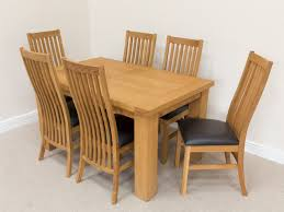 dining sets seater: cheap oak dining set seater oak dining set oak dining sets