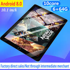 WiFi <b>Tablet PC Screen</b> 10 Inch Ten Core 6G+64G Android 8.0 Dual ...