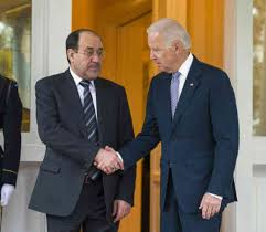 Maliki rejects calls Biden to divide Iraq who failed to maintain its unity