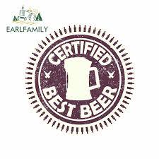 EARLFAMILY 13cm x 13cm For <b>Beer</b> Stamp Graffiti <b>Sticker</b> ...