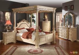 bedroom furniture sets pcsizgeb creative kamella classic white traditional poster canopy bedroom furni