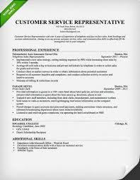 bank customer service resumes template sample resume customer service representative