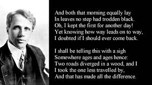 the road not taken by robert frost poem text