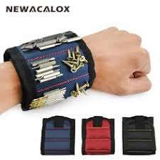 <b>Magnetic Wristband</b> with Strong Magnets for Holding Screws, Nails ...