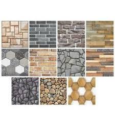 Rustic <b>3D Wall Decal</b> Geometry <b>Brick</b> Stone Self-Adhesive Wall ...