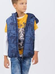 Купить <b>жилеты</b> для мальчиков в интернет магазине WildBerries.ru