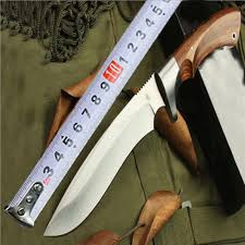 Jungle field survival <b>straight knife outdoor</b> diving defense <b>portable</b> ...