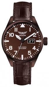 <b>Часы Aviator V</b>.1.22.8.151.4: купить <b>Мужские</b> наручные часы ...