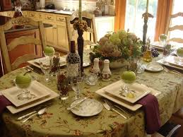 attractive dining table