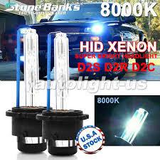 2x <b>8000K</b> Ice <b>Blue D2S D2R</b> D2C HID Xenon Bulbs Factory ...