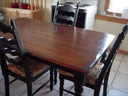 Restaining Kitchen Table Do It Yourself Divas Diy Kitchen Table Makeover