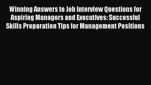 winning answers to job interview questions for aspiring 00 08