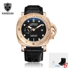 2019 <b>KIMSDUN Top Brand</b> Luxury Men's Quartz Chronograph ...