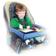 Waterproof Table <b>Car Seat Tray</b> Storage <b>Baby Safety Seat</b> Infant ...