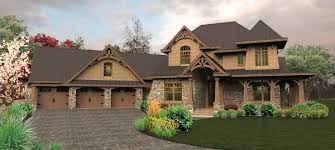 Craftsman House Plan       Bedrm  Sq Ft Home         middot  Front elevation of Ranch home  ThePlanCollection  House Plan
