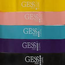 Flex Set <b>резинки</b> для <b>фитнеса</b>, 5 шт. в комплекте, разный вес <b>GESS</b>