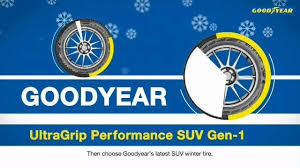 <b>Goodyear</b> - <b>UltraGrip Performance</b> SUV <b>Gen</b>-<b>1</b> | Facebook