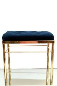 images hollywood regency pinterest furniture: hollywood regency gold navy blue tufted by electricmarigold