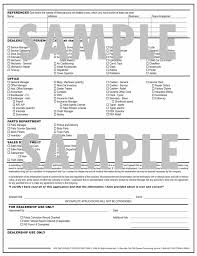 a 2 sided employment application designed especially for the price 6 95