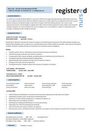 medical cv template sample of rn resume