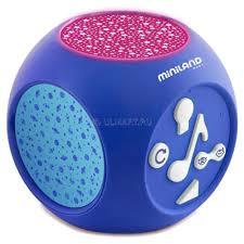 <b>Ночник</b>-<b>проектор Miniland Dreamcube</b> 89196 – купить в Юлмарт ...