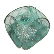 <b>new shrimp cage 5/9</b> holes fishing network loach cage fishing net ...