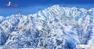 val thorens work a winter snow season the three valleys trail map