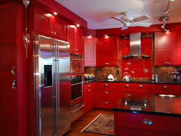 blue kitchen cabinets small painting color ideas: tags amazing red color kitchen paint idea with wooden cabinetry and small