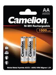 <b>Аккумуляторы Camelion</b> NH-AA1500BP2, АА, 2шт.