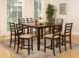 Tall Dining Room Table Chairs Tall Dining Room Table Marceladickcom