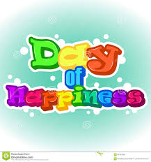 bright international day of happiness background greeting card or bright international day of happiness background greeting card or sticker holiday poster or placard