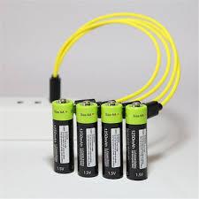 Original <b>ZNTER</b> ZNT7 AAA USB <b>Rechargeable</b> Polymer Battery ...