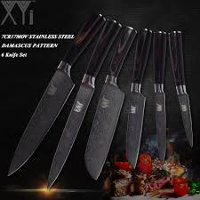 <b>XYj</b> Japanese Style Chef <b>Knives Set</b> Stainless Steel Kitchen Knife ...