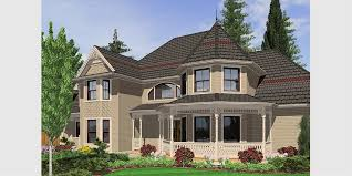 Victorian House Plans  Country Kitchen House Plans  Bonus Room OvHouse front drawing elevation view for Victorian House Plans  Country Kitchen House Plans