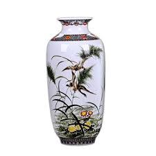 MINLIN Jingdezhen Ceramic Vase Vintage Chinese ... - Amazon.com