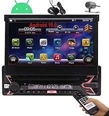 1 Din Radio Android 10 Single Din Car Stereo ... - Amazon.com