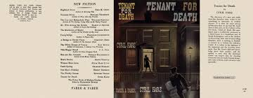 Image result for tenant for death cyril hare