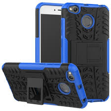 Case for Redmi 4X Shockproof Back Cover Armor Hard Silicone ...
