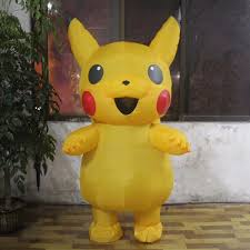 New Sale <b>Pikachu Inflatable Costume Halloween</b> Christmas Party ...