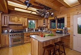 kitchen ideas log cabin